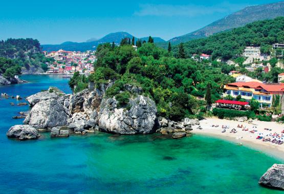 Hotel Achilleas (Parga / Epiros) - VONI-Touristik
